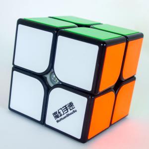 Cubo Rubik 2x2 MoHuan ShouSu Base Negra