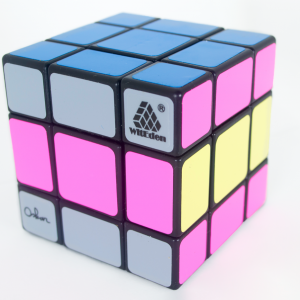 Cubo Rubik 3x3 Mix Up Plus Oscar Base Negra