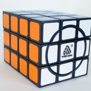 Cubo Rubik 3x3x4 Crazy WitEden Base Negra
