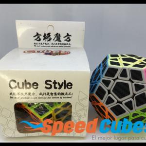 Cubo Rubik Megaminx Fibra De Carbono Cube Style