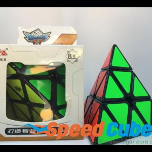 Cubo Rubik Pyraiminx Cyclone Boys Base Negra