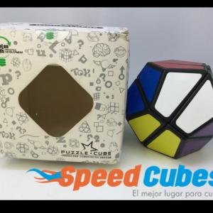 Cubo Rubik Megaminx 2x2 Lan Lan Base Negra
