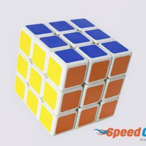 Cubo Rubik Mini 3x3 Linglong Shengshou Base Blanca