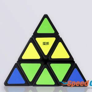 Cubo Rubik Pyraminx Moyu Base Negra