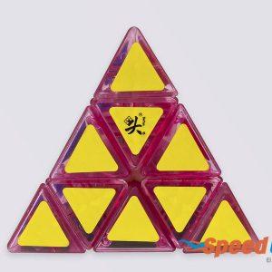 Cubo Rubik Pyraminx Rosa Dayan