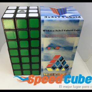 Cubo Rubik 3x3x7 Witeden Base Negra