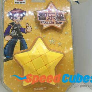 Cubo Rubik Puzzle Star Amarillo YJ