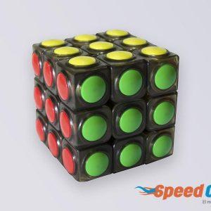 Cubo Rubik 3x3 Linggan YJ Base Negra