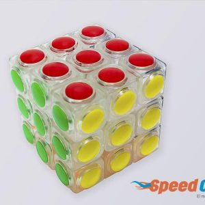 Cubo Rubik 3x3 Linggan Transparete YJ