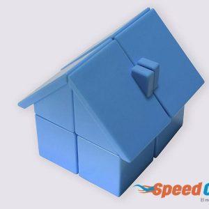 Cubo Rubik 2x2 Casa Azul YJ