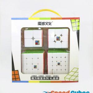 Paquete De 4 Cubos Rubik MF