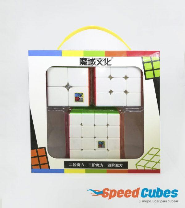 Paquete De 3 Cubos Rubik MF