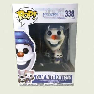 Funko Pop Olaf With Kittens 338