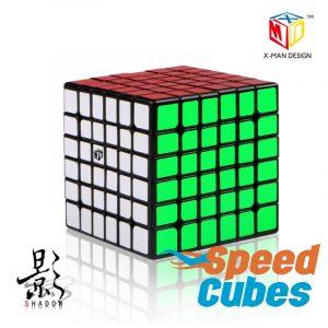Cubo Rubik 6x6 Shadow X Man Design