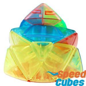 Cubo Rubik Mastermorphix Transparente QiYi