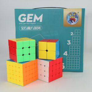 Paquete De 4 Cubos Shengshou