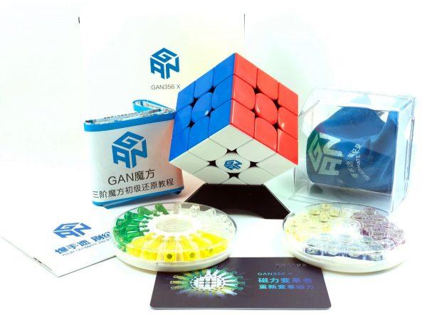 Cubo Rubik 3x3 Gan 356 X Numerical