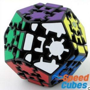 Cubo Rubik Gear Megaminx Lan Lan Base negra