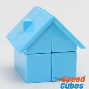 Cubo Rubik Casita 2x2 YJ Azul