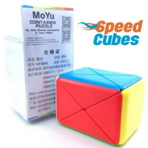 Cubo Rubik Container Puzzle MoYu Colored