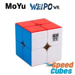 Cubo Rubik 2x2 Weipo WR M